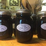 Finished Homemade Grape Jelly